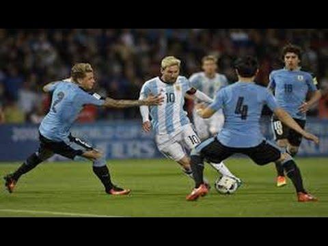 Goals Argentina vs Uruguay 1-0 HD