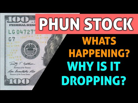 Download PHUN STOCK IMPORTANT ANALYSIS! - WHY IS THIS STOCK GOING DOWN TODAY & WHAT COMES NEXT!?
