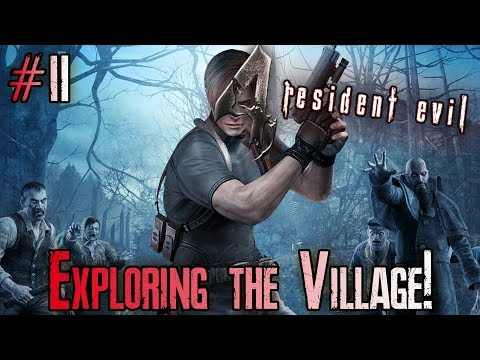[Let's Play] Resident Evil 4 [2] Exploring the Village!