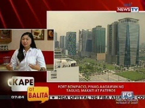 KB: Fort Bonifacio, Pinag-aagawan Ng Taguig, Makati At Pateros