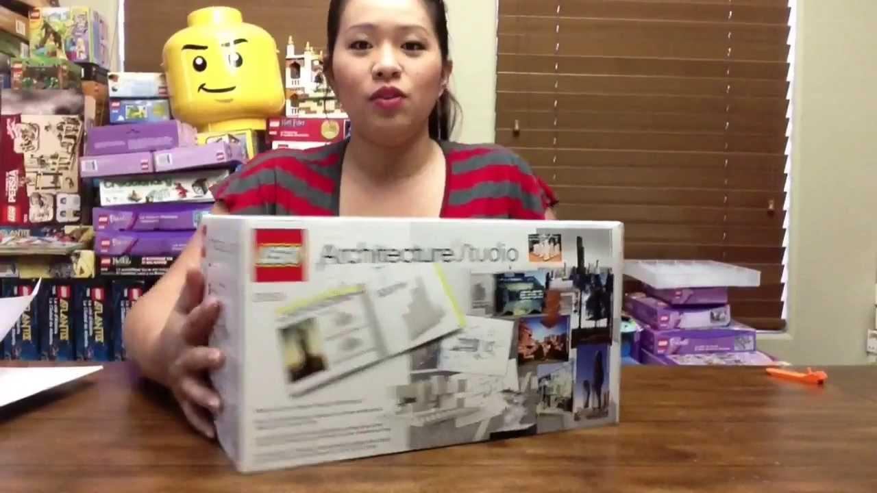 Architecture Studio Lego lego architecture studio set 21050 - youtube