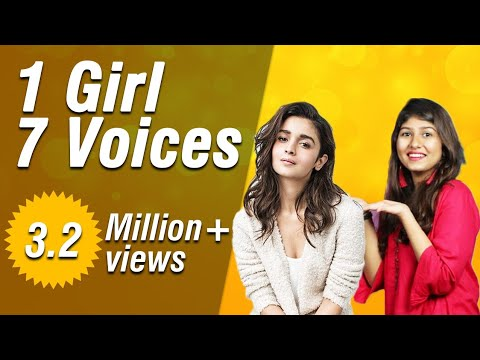 Thumbnail: Mimicry of bollywood actresses Alia Bhatt,Kangana Ranaut,Shraddha Kapoor and many from serials