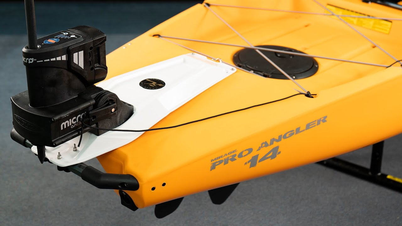 How-To Install   Power-Pole Micro Anchor and 8' UL Spike on Hobie Pro Angler Series Kayaks