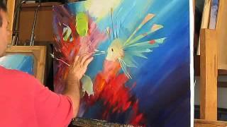 урок живописи подводный мир