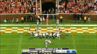 2010 Alabama vs Tennessee