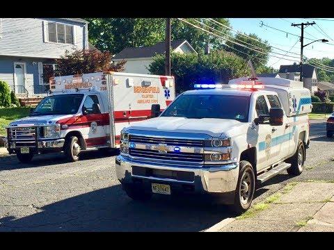 Bergenfield Ambulance 736 & !NEW! Holy Name Medical Center Paramedics/ALS 301 Responding
