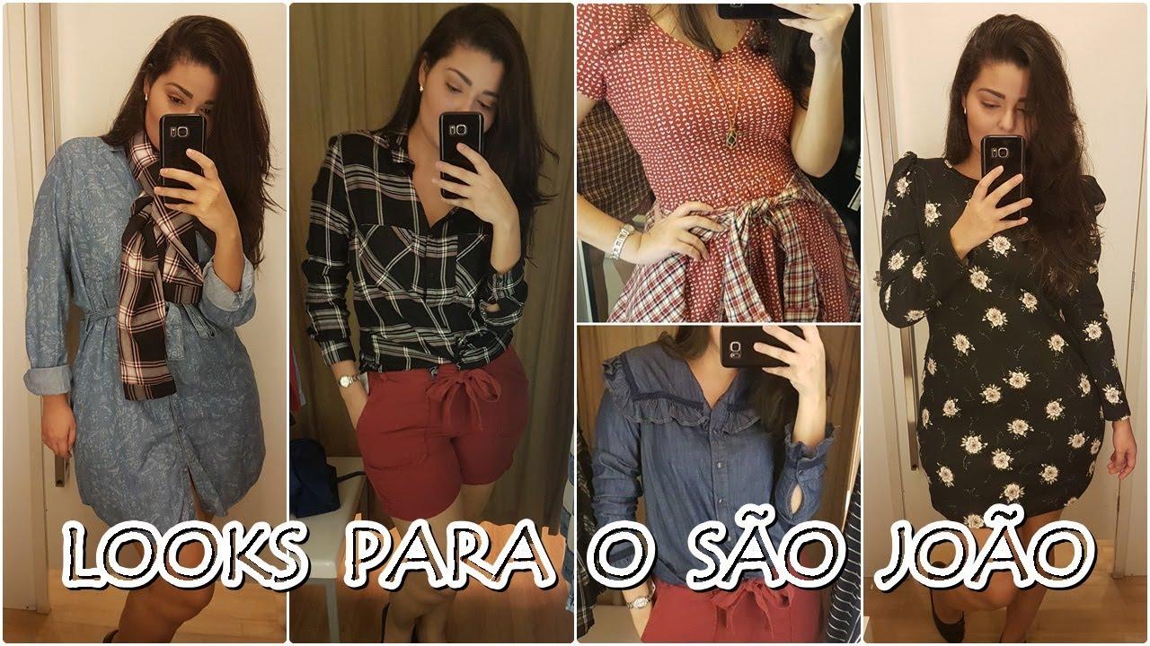 cc84ad09485d4a Looks para o São João | Garimpo na Marisa, Riachuelo e Renner - YouTube