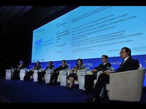 Singapore Forum 2015 Plenary Session 1: What Next for Asia?