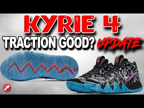 Nike Kyrie 4 Grip/Outsole Bad?? Traction Update!