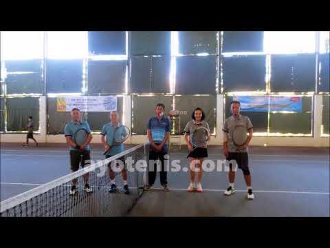 Kalahkan Ismail/Jhony Lontoh, Noor Iman/Jenny Maukar Juara Turnamen Persahabatan Pelantikan Pengurus Baveti Surabaya