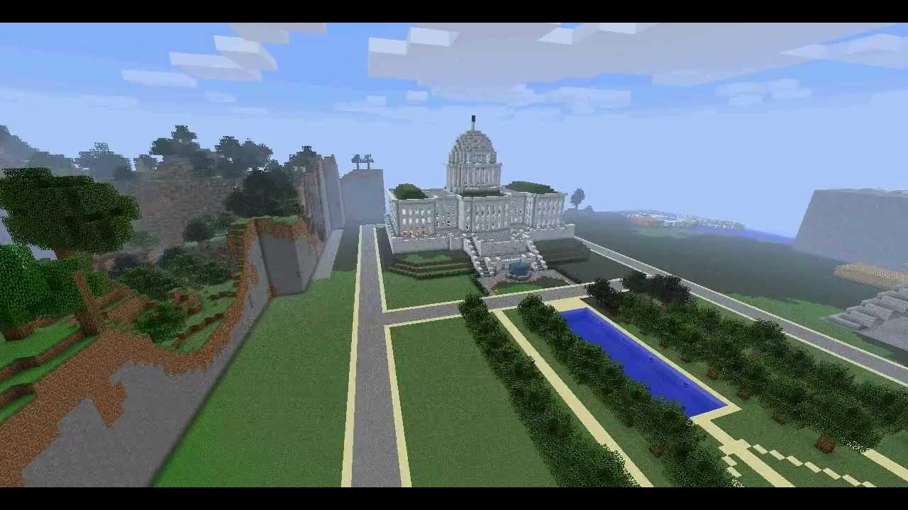 minecraft us capitol building