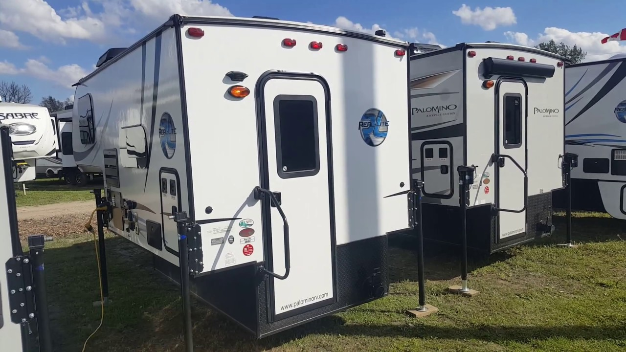 2018 Real Lite HS1802 Ultra Lite Truck Camper @ Camp-Out RV in Stratford