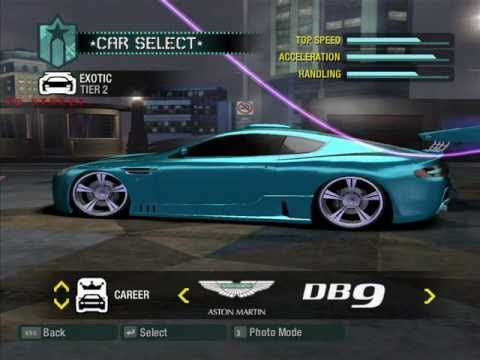 Need For Speed Carbon My Tuning Cars 4 2008 Year Youtube