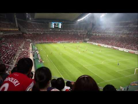 Kickoff! Nagoya Grampus vs Arsenal - Arsenal Asia Tour 2013