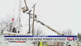 Duke Energy Crews Prepare For More Power Outages