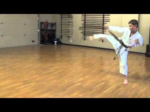 Lincoln Budokan, Heian Yondan Kenkojuku Shotokan Karate