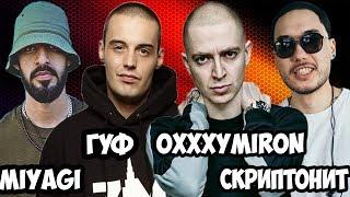 Американцы Слушают Русскую Музыку #22 OXXXYMIRON, ГУФ, NOiZE MC, MIYAGI, СКРИПТОНИТ, ЯРМАК, ЛСП