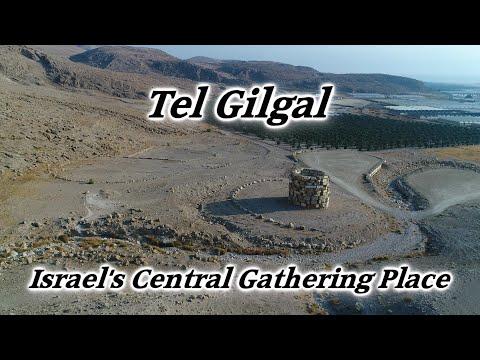 Gilgal, Israel: Place Joshua, Samuel, Saul, Tabernacle, Altar, 12 Stone Monument, Footprint, Located