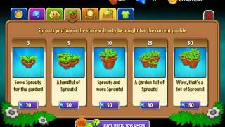 Растения против Зомби 2 у меня 80 алмазов!!!!!!!