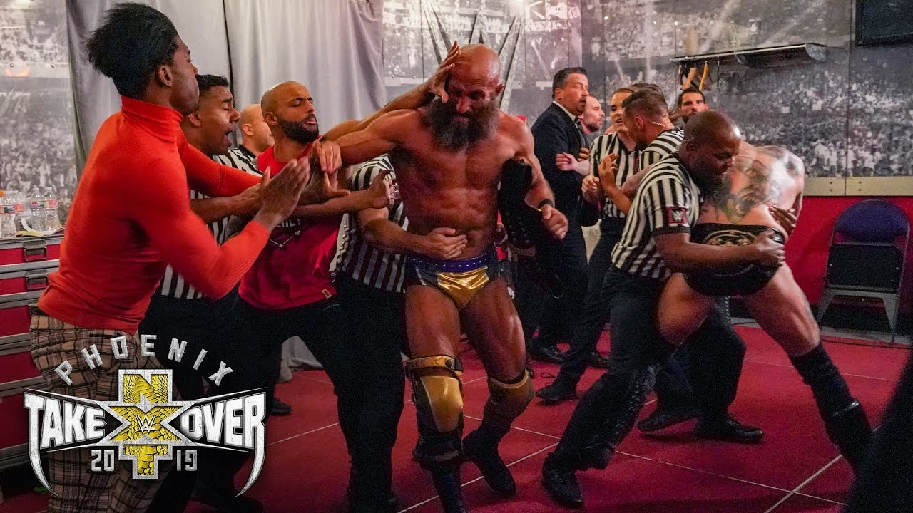 Huge brawl breaks out between NXT's elite Superstars after TakeOver: WWE Exclusive, Jan. 26, 20