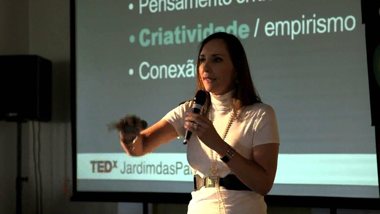A lagarta e a borboleta -- da criatividade à inovação: Martha Gabriel at TEDxJardimdasPalmeiras