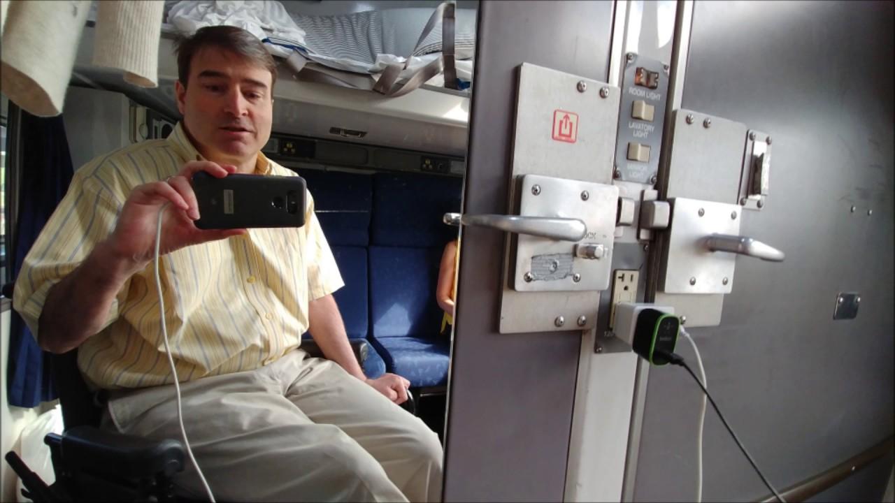 Amtrak Viewliner Accessible Sleeper Room  YouTube