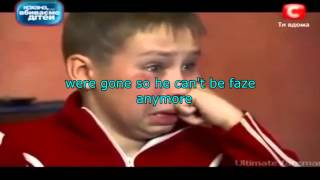 Ukrainian kid wanna join Faze