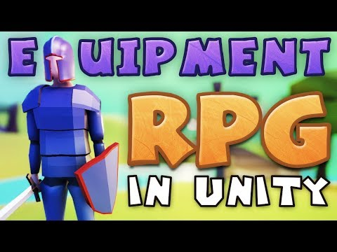 EQUIPMENT - Making An RPG In Unity (E07)