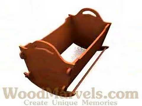 Build Your Own Wooden Baby Rocker Youtube