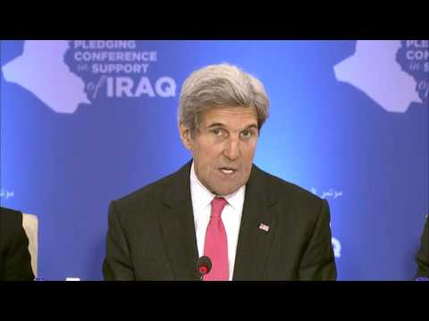 Secretary Kerry Opens Pledging Conference in Support of Iraq