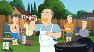 American Dad - beer vs puke
