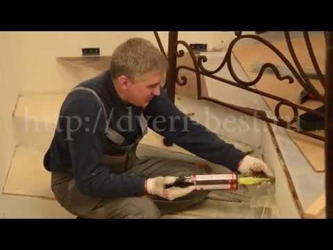Установка кованых перил в Москве 25-11-14