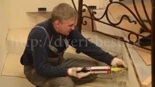 Установка кованых перил в Москве 25-11-14(, 2014-12-16T10:43:05.000Z)