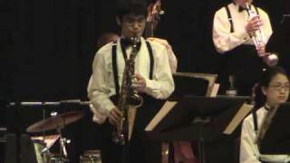 JP Stevens High School Jazz -  Song For Cymbaline ( a.k.a. A Soulful Moment)
