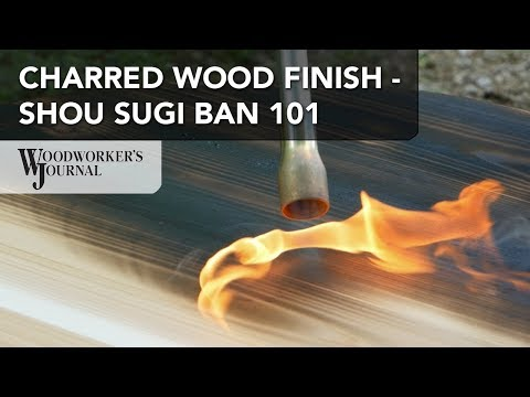 How to Burn Wood for a Shou Sugi Ban Exterior Wood Finish