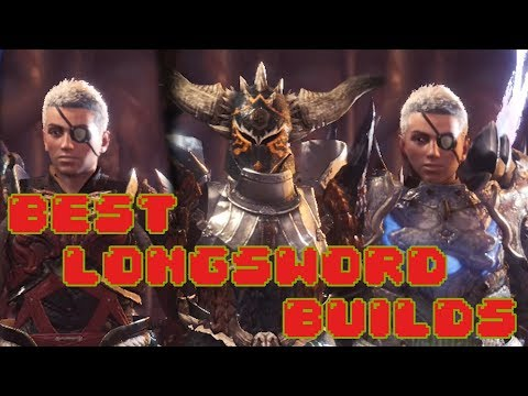 Best Long Sword Builds in Monster Hunter World (Guide)