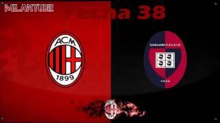 AC Milan vs Cagliari Fecha 38│Musacchio a milan│ Pre temporada ICC