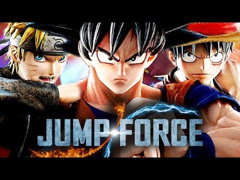 JUMP FORCE : A PRIMEIRA MEIA HORA