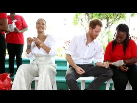 Prince Harry, Rihanna get HIV tests