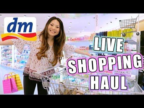 dm LIVE Shopping Haul Challenge! Drogerie Neuheiten April 2017 mit Deinen Aufgaben   Mamiseelen
