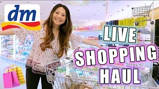 dm LIVE Shopping Haul Challenge! Drogerie Neuheiten April 2017 mit Deinen Aufgaben | Mamiseelen
