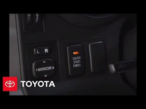2007 - 2009 FJ Cruiser How-To: Clutch Start / Cancel Switch   Toyota