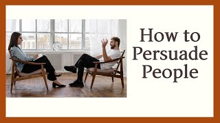 How to Persuade People | Meditation
