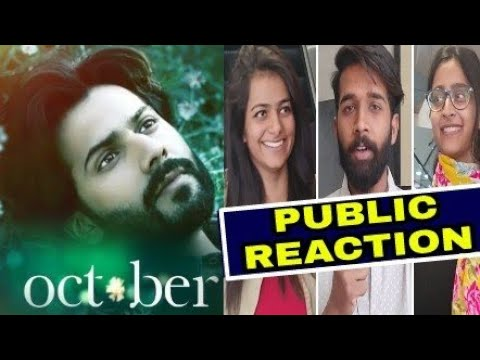 October Movie Public Reaction & October Movie Public Review Varun Dhawan Binita,October movie review