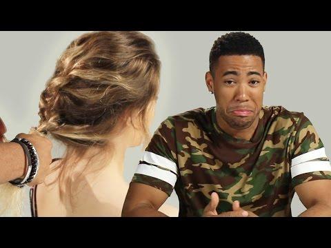 Boyfriends Braid Their Girlfriends' Hair
