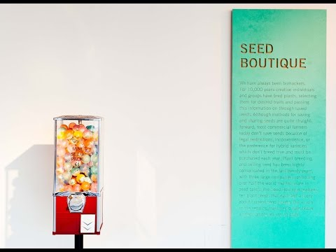Seed Boutique at FIELD TEST at Science Gallery Dublin