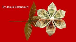 Beautiful 3 Dollar Flower Origami Tutorial