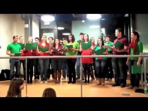 Vocal Point Sings 'White Christmas' at the UD Bookstore