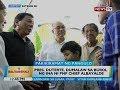 Pres. Duterte, dumalaw sa burol ng ina ni PNP chief Albayalde