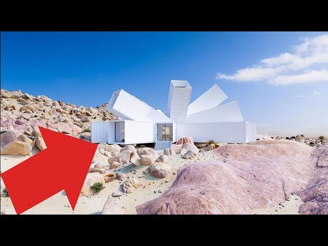 Guy Builds A Crazy House In The Desert Out Of Old Shipping Containers